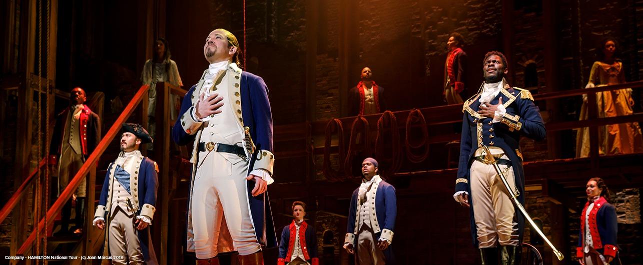 Hamilton At The Music Hall Kansas City Broadway Series